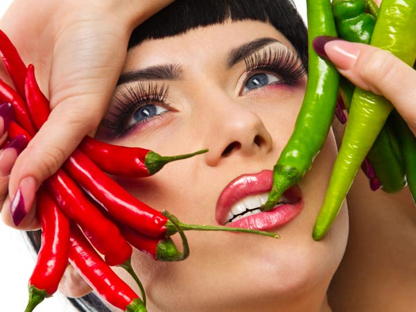 Spicy food for fat burning