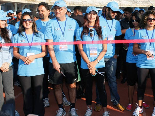 Bangalore At Beat Diabetes Walkathon