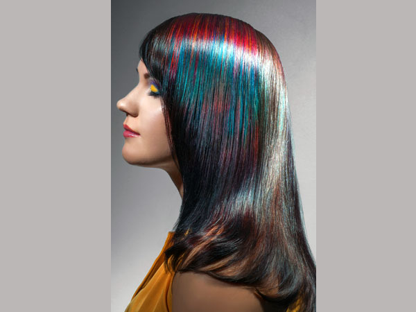 Indian Black Hair Highlights