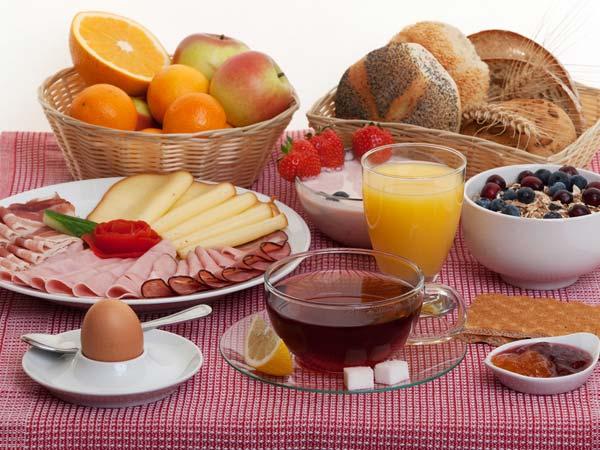 Healthy food for breakfast