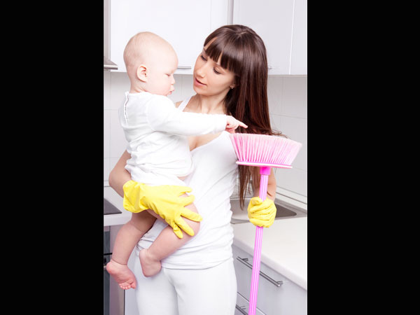 Cleaning Tips For New Parents