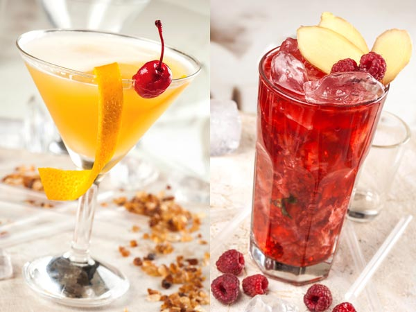 2 fruit punch recipes for new year for Fruity mixed drinks recipes