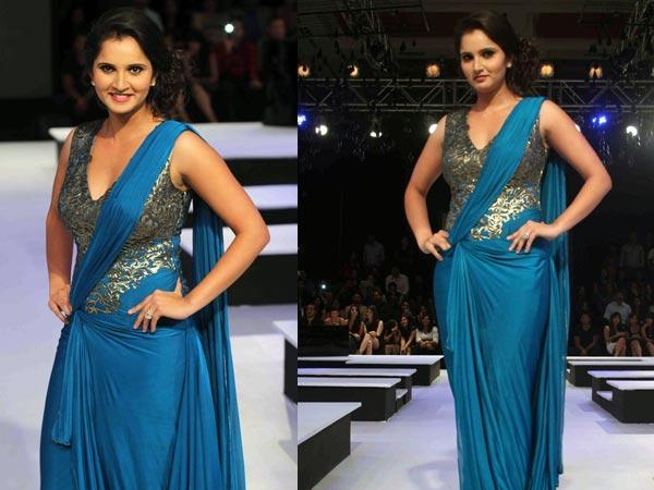 Sarees style dresses