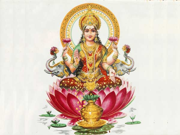 Worship Lakshmi: Hindu Goddess For Wealth