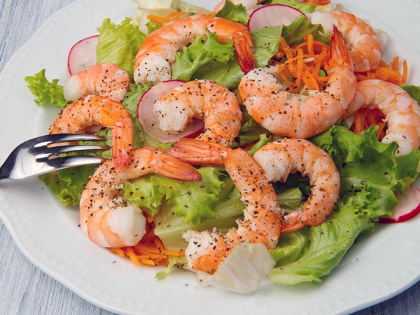 Margarita Shrimp Salad For Dieters