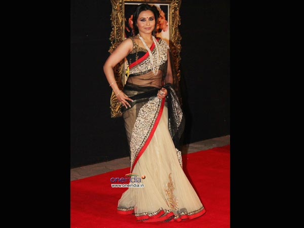 Rani mukherjee hot transparent saree that would