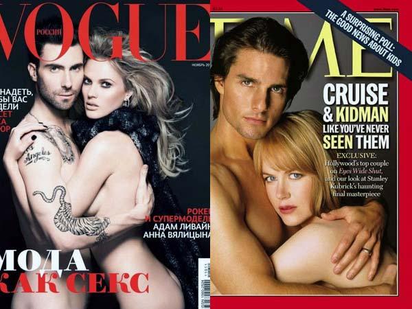 Naked celebrity couples
