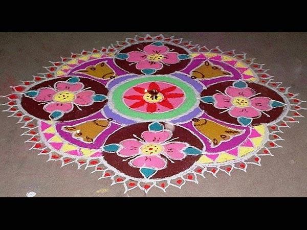 Special Rangoli Designs For Ugadi Boldskycom
