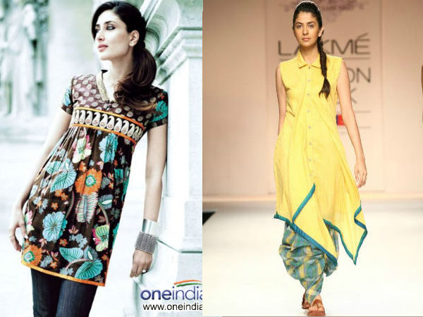 Fashionable Ways To Wear Kurtis