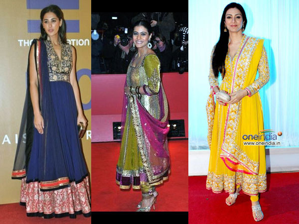 Hairstyles To Try With Anarkali Dresses