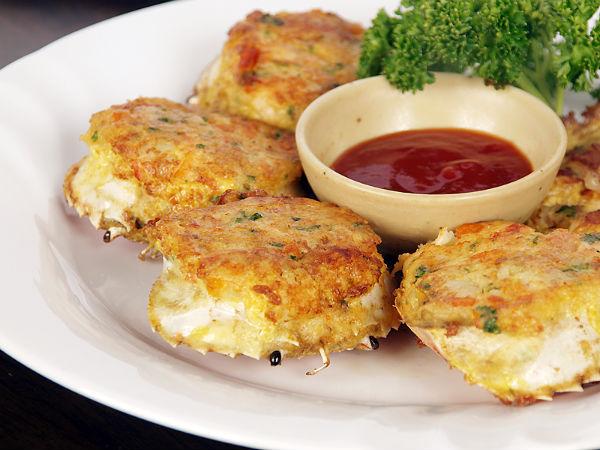 Stuffed crabs recipe for Classic starter recipes