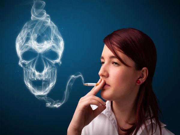 Effects Of Smoking Skin