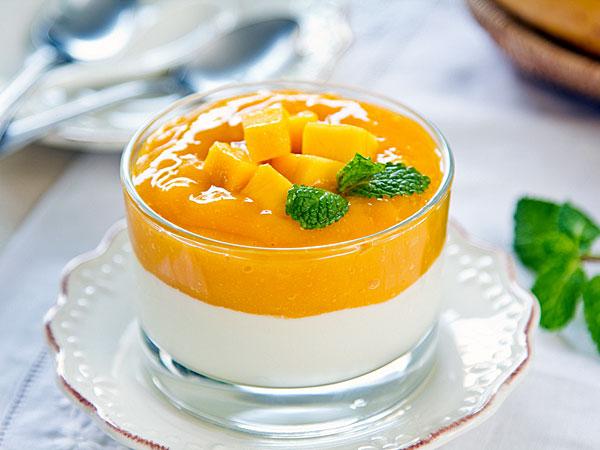 Biscuit Mango Pudding: Easy Mango Dessert - Boldsky.com