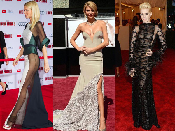 Most Revealing Celebrity Red Carpet Dresses - Home The ...