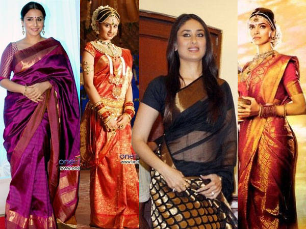 Celebrities In Silk Sarees - Boldsky.com