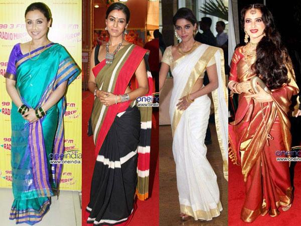 14 Most Famous Indian Sarees