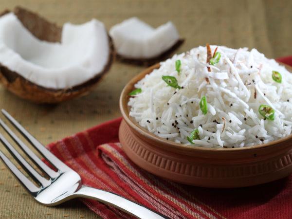 Thai Coconut Rice Recipe - Boldsky