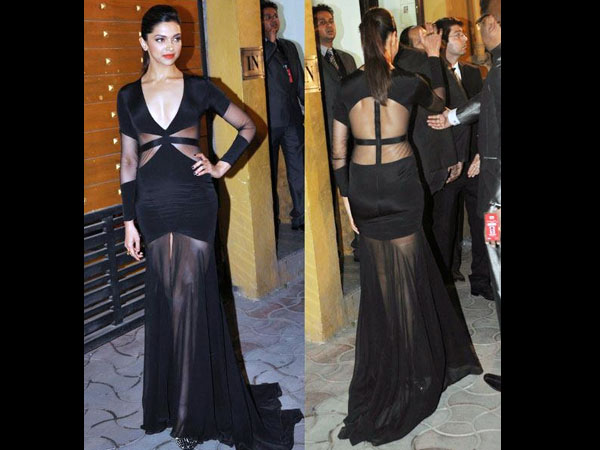 Wear A Black Dress In Bollywood Style - Boldsky.com
