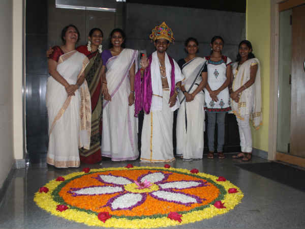 home decorating ideas for festivals decorating your office for onam festival boldsky 12692