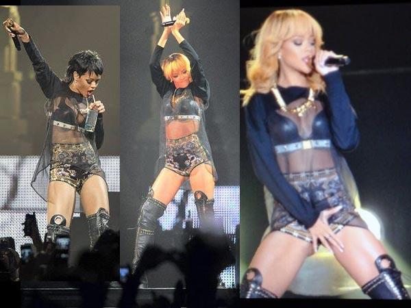 Rihanna Touches Her Crotch On The Stage! - Boldsky.com Rihanna Diamonds