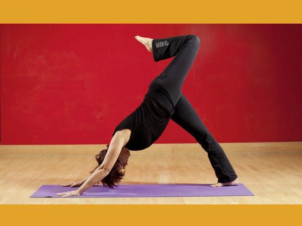 Yoga Asanas Thigh