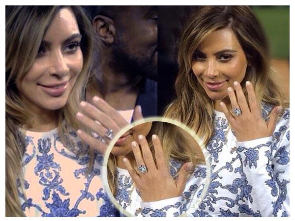 Kim Kardashian Engaged To Kanye West Boldsky