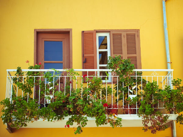 Decorate Balcony With Plants | Decorating Balcony