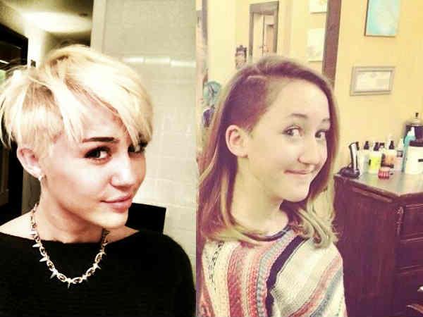 Miley Cyrus Sister Miley Cyrus Noah Hairstyle Noah