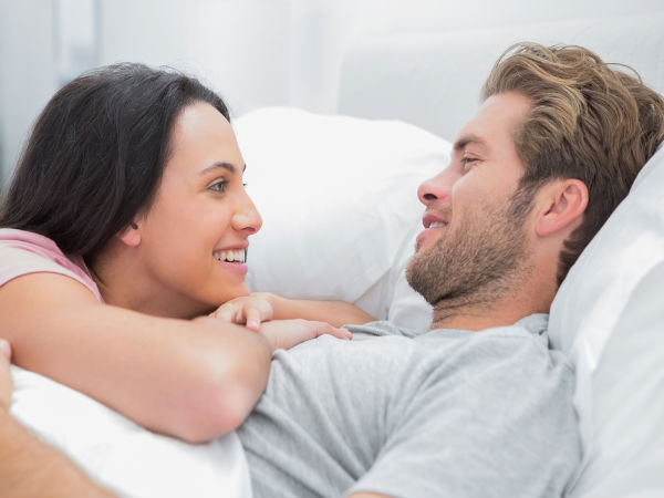 husband and wife relationship in bed