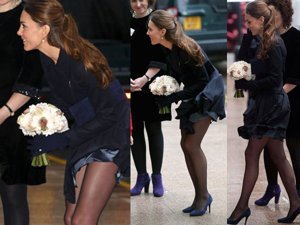 Kate Middleton's Wardrobe Malfunction