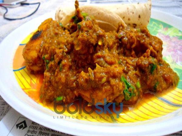 Low Fat Desi Chicken Masala Recipe Boldsky