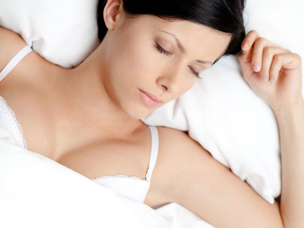 Why Not To Wear Bra While Sleeping: Reasons