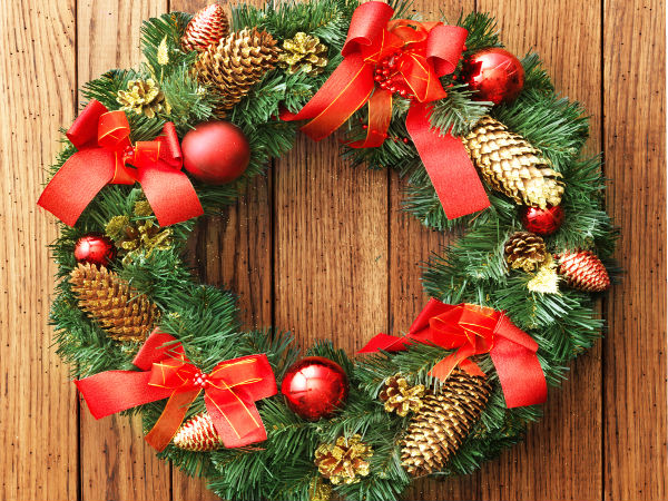 Significance Of The Christmas Wreath Boldsky Com