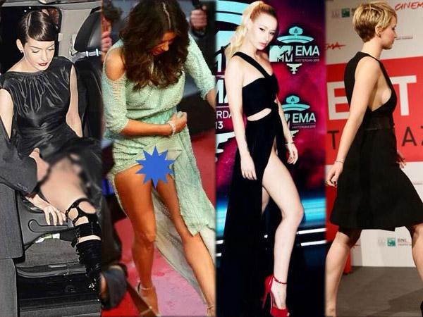 Wardrobe malfunctions celebrity worst Whoopsie! Worst
