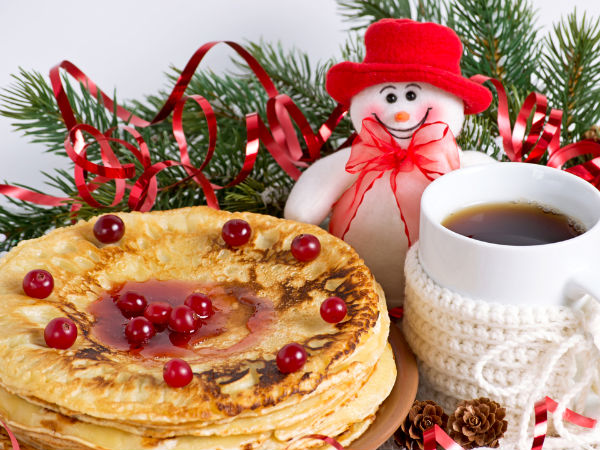 Ginger Pancake Recipe For Christmas Eve Breakfast ...
