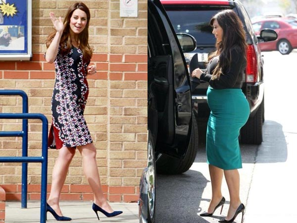 How to Wear High Heels During Pregnancy