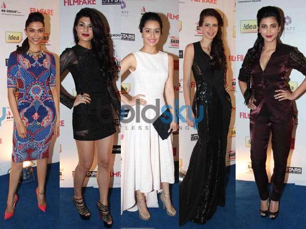 Filmfare Awards Nominations Party 2014