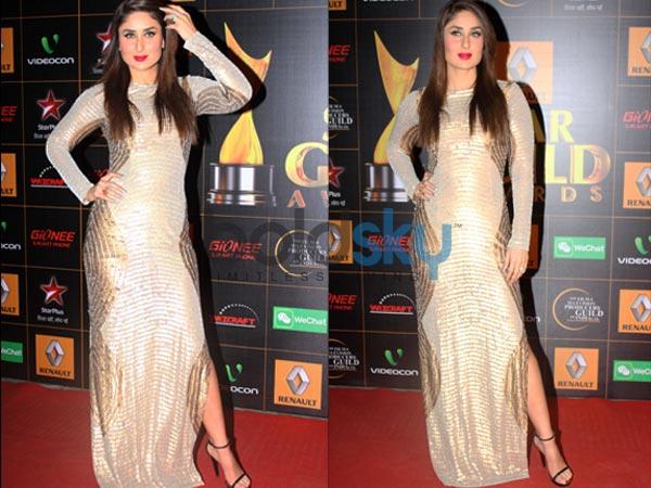 Fashion Beauty Awards: Star Guild Awards 2014:Kareena Kapoor OnThe Red Carpet