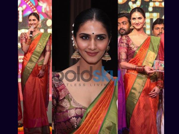 Vaani Kapoor In Kanjeevaram Saree