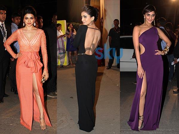 Filmfare Awards 2014: Red Carpet's Revealing Dresses