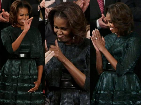 Alaia Dress And Jacket Mrs. Obama Wore Michelle Obama wore a
