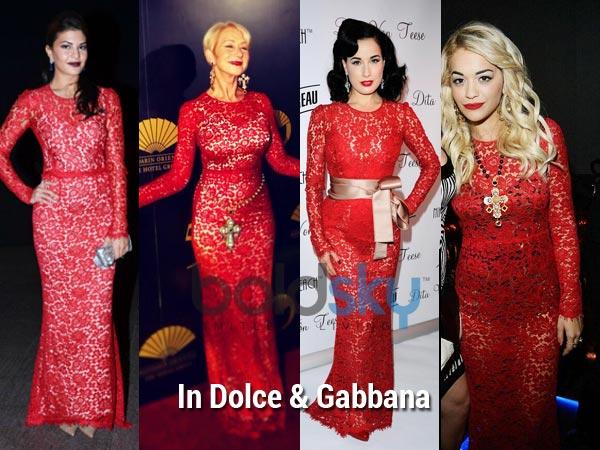 Who Wore Dolce &amp- Gabbana Better? - Boldsky.com
