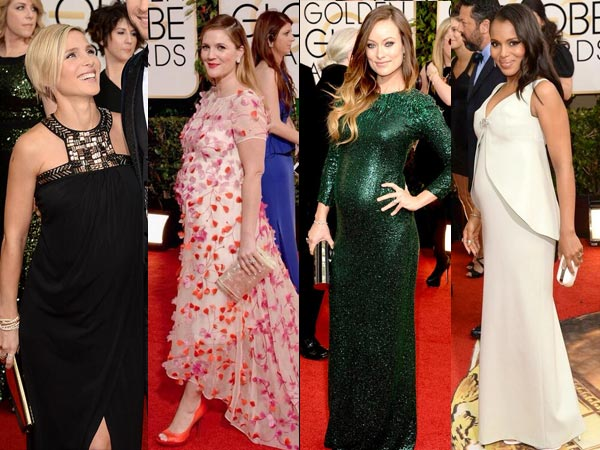 Pregnant Celebs At Red Carpet: 2014