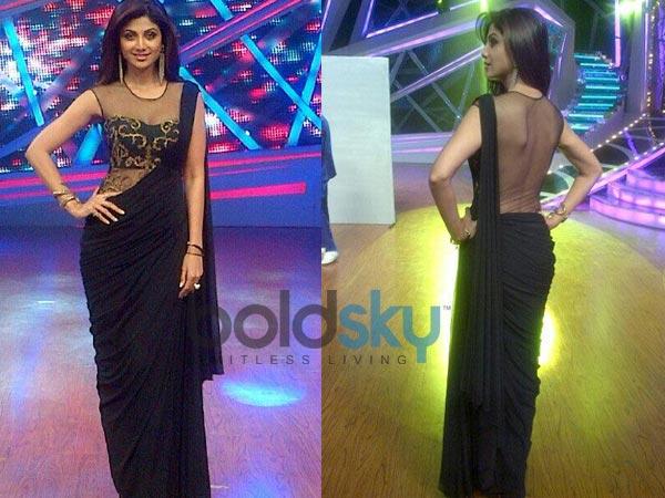 Nach Baliye 6: Shilpa Shetty In Black