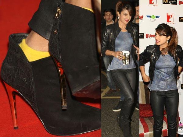 Priyanka Chopra S Shoes Collection Boldsky Com