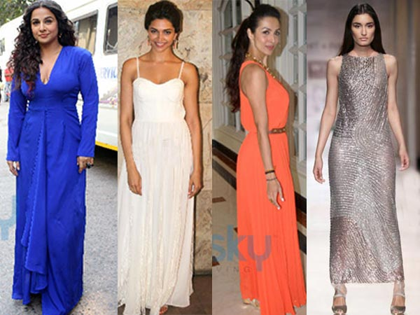 Spotted: 12 Celebrities In Maxi Dresses
