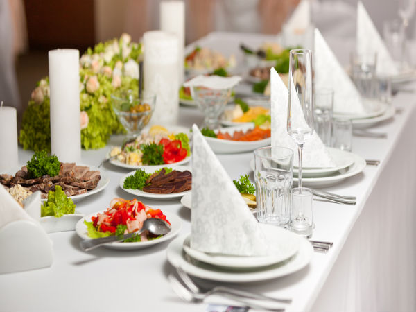 Table Decor Ideas For Functions