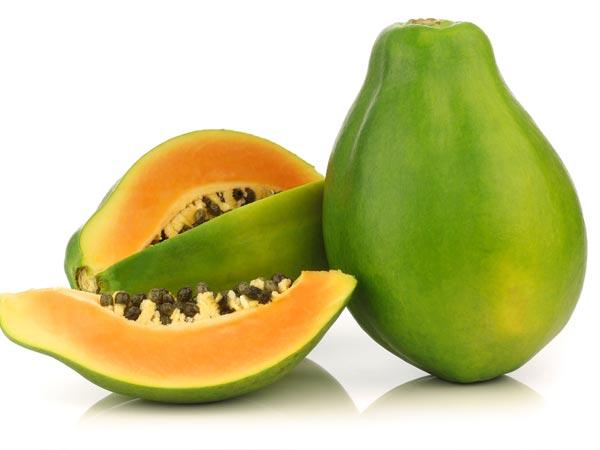 Health Benefits of Unripe Green Papayas