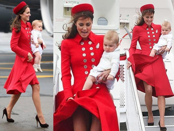 Kate Middleton's Marilyn Monroe Moment In Red Dress ...