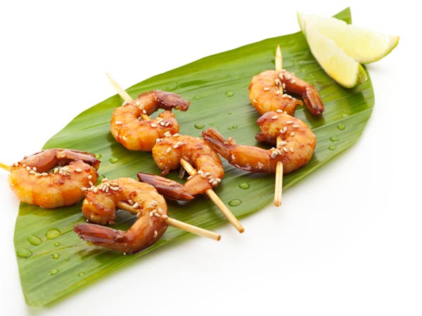 Lasooni Jhinga | Grilled Garlic Prawns | Recipe